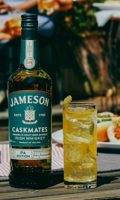 Jameson Caskmates Ipa Shandy Cocktail Rezept